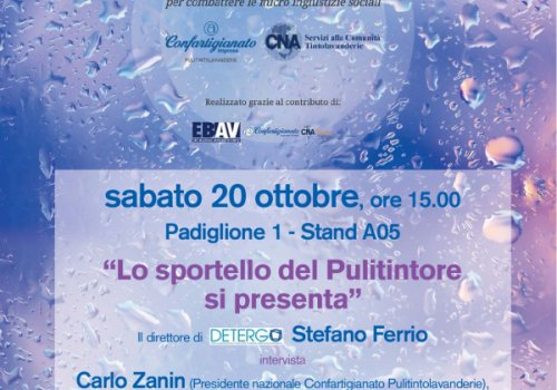 Lavanderie, doppio appuntamento alla Fiera Expo Detergo di Milano