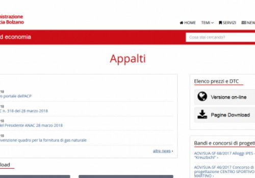 Kompatscher: appalti, meno burocrazia e più spazio di manovra