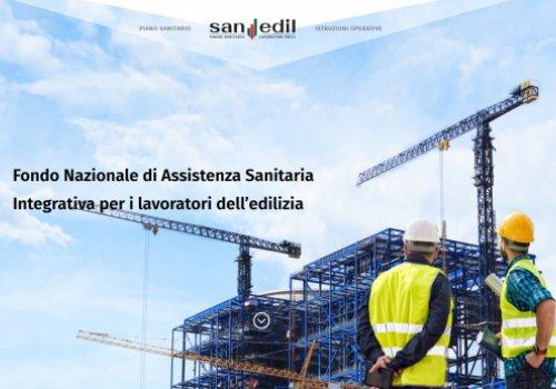 SANEDIL: Al via il fondo sanitario integrativo dell'edilizia