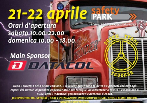 CNA partner del Truckday del 21 e 22 aprile al Safety Park