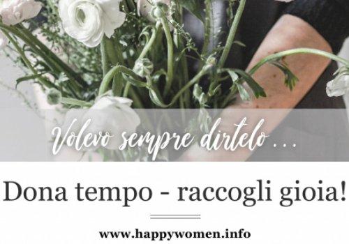 Neues Projekt: Zeit und Freude schenken, im Zeichen der Solidarität zwischen Frauen