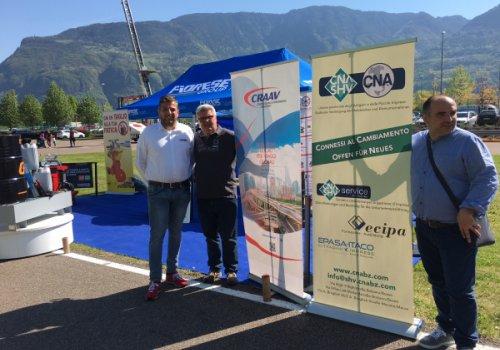 CNA Fita, CRAAV e Fiorese Group protagonisti al Truckday South Tyrol 2018