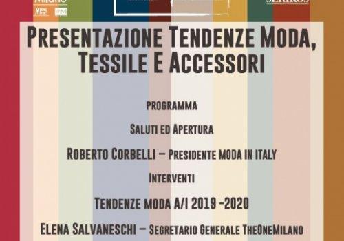 Trend Presentation, iniziativa di CNA Federmoda a Bologna. Ecco come partecipare