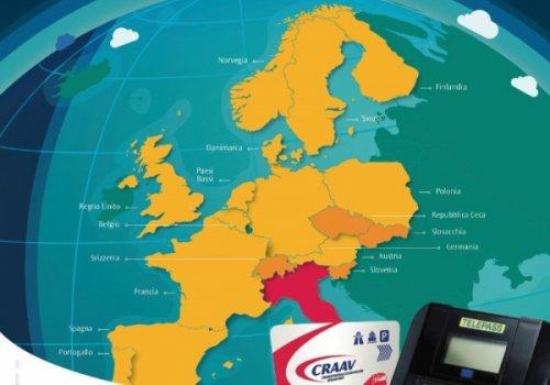 CNA Fita e CRAAV: è attivo il nuovo TELEPASS EUROPEO! Da oggi anche in Germania e nei paesi Scandinavi