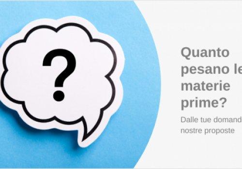 Materie prime, quanti rincari? Rispondi al questionario CNA