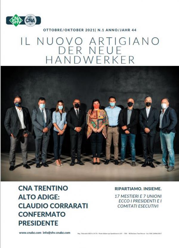 E' uscito Il Nuovo Artigiano - der neue Handwerker di ottobre