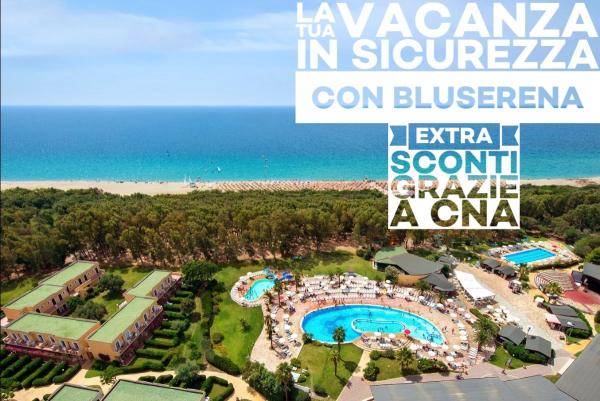 La tua vacanza in sicurezza relax e divertimento nei villaggi e resort Bluserena con lo sconto CNA