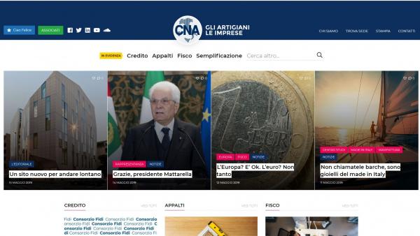 È online il nuovo sito della CNA nazionale