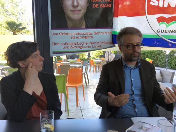 Europee, il Manifesto di CNA Trentino Alto Adige consegnato ai candidati de La Sinistra