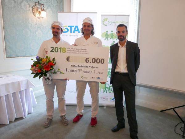 Premio mobilità 2018, vince il panificio biologico Profanter