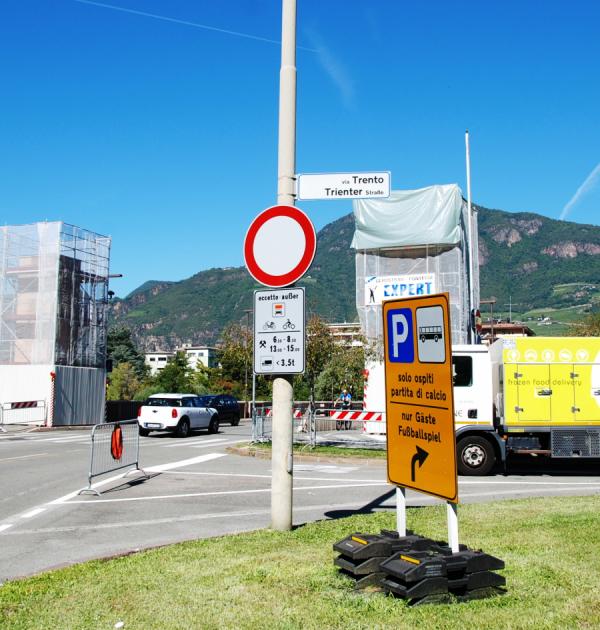 CNA-SHV ricorda agli associati che viale Trento è aperto ai veicoli aziendali in via sperimentale