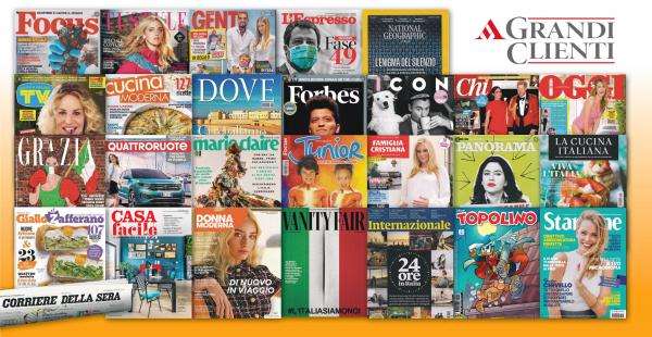 Fino all'80% di sconto sulle riviste Mondadori. Per questa estate regala un anno di lettura a un prezzo scontato grazie a CNA
