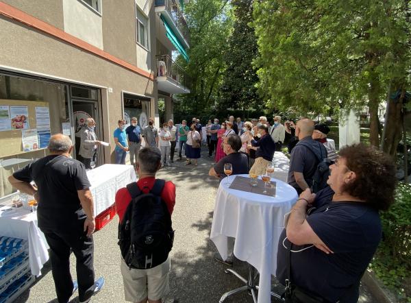 """Il Circolo Bolzano Club Bozen inaugura la nuova sede.  Salvadori: """"Siamo al servizio della comunità cittadina"""""""