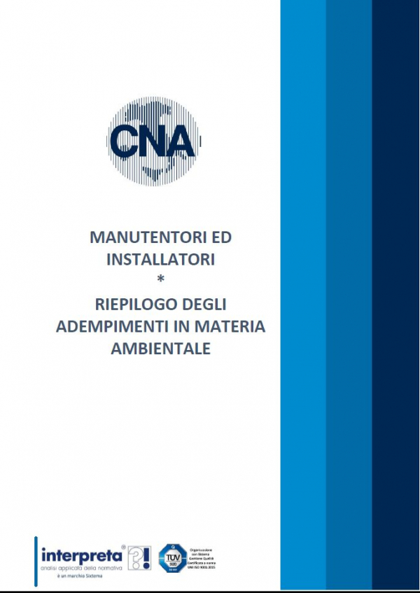 Gestione dei RAEE, arriva il manuale CNA