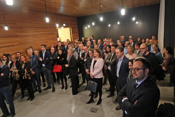 Neujahrstreff 2019: zweite Abendveranstaltung bei Mila Bergmilch Südtirol in Bozen