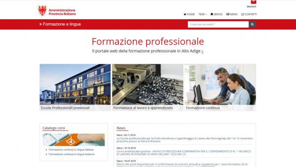 Catalogo dei corsi per l'aggiornamento professionale - Edizione 2020