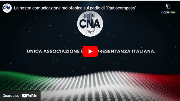 """La comunicazione radiofonica CNA sul podio di """"Radiocompass"""", il più importante premio del settore"""