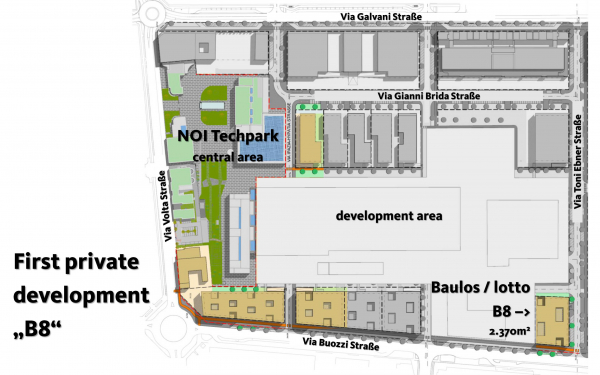 Al via i progetti di edilizia privata al NOI Techpark: entro il 15 novembre le candidature per il primo lotto