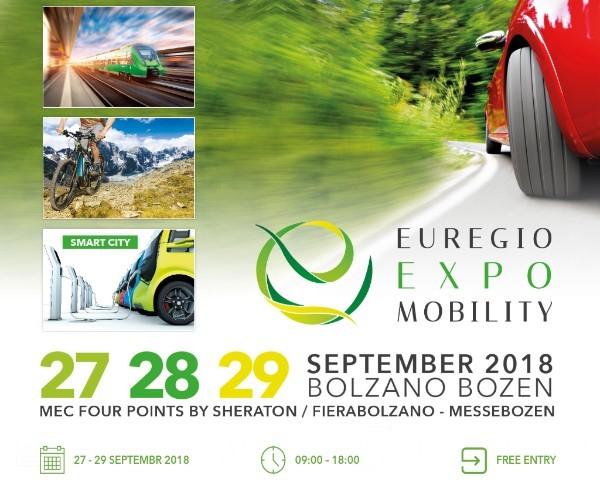 Euregio Expo Mobility Bolzano 27. - 29. September 2018
