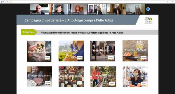 Restart Alto Adige 2021-2023, Rete Economia incontra IDM. Promozione territoriale flessibile, più sostegno al capoluogo. Confronto sulle strategie di marketing e sviluppo parallele alla pandemia