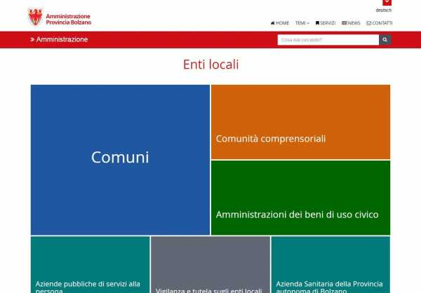 Enti locali, online il nuovo portale web