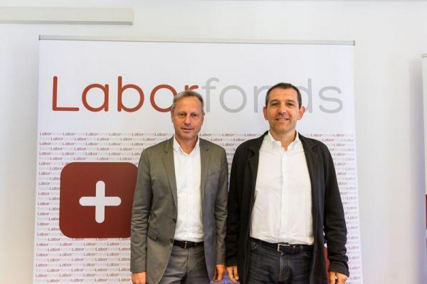 Die neue Führungsspitze von Laborfonds: Alfred Valentin wird Präsident des Fonds, Fabrizio Bignotti Vizepräsident