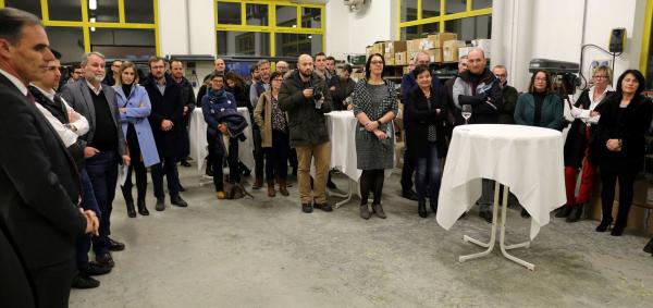 Neujahrstreff 2019: finale Abendveranstaltung im Unternehmen Fiber Plast in Latsch
