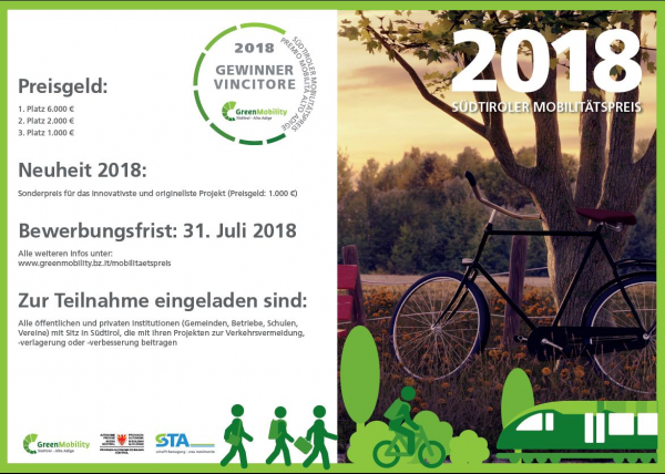 Südtiroler Mobilitätspreis 2018